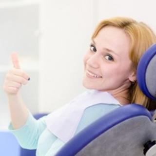 Thumbs up dental chair